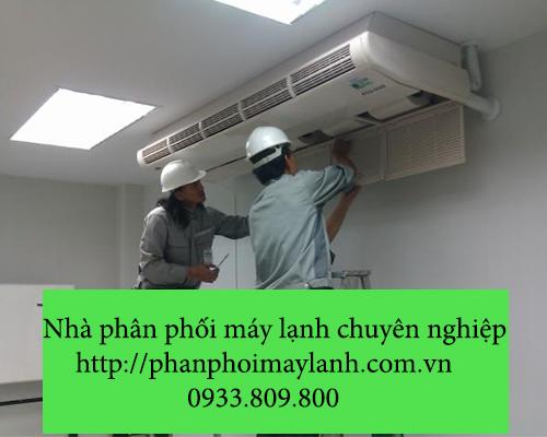 Lắp đặt máy lạnh tại huyện bình chánh