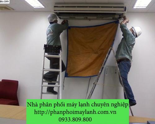Lắp đặt máy lạnh tại quận Bình Tân